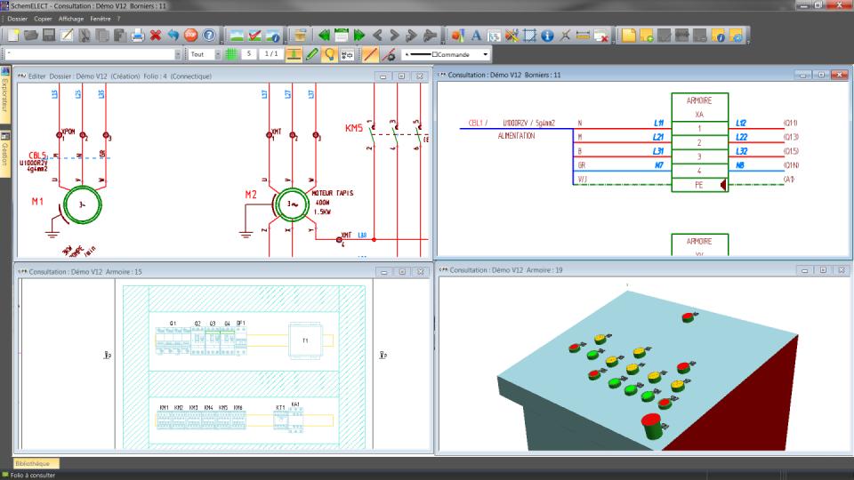 Telecharger logiciel dao / cao schéma électrique
