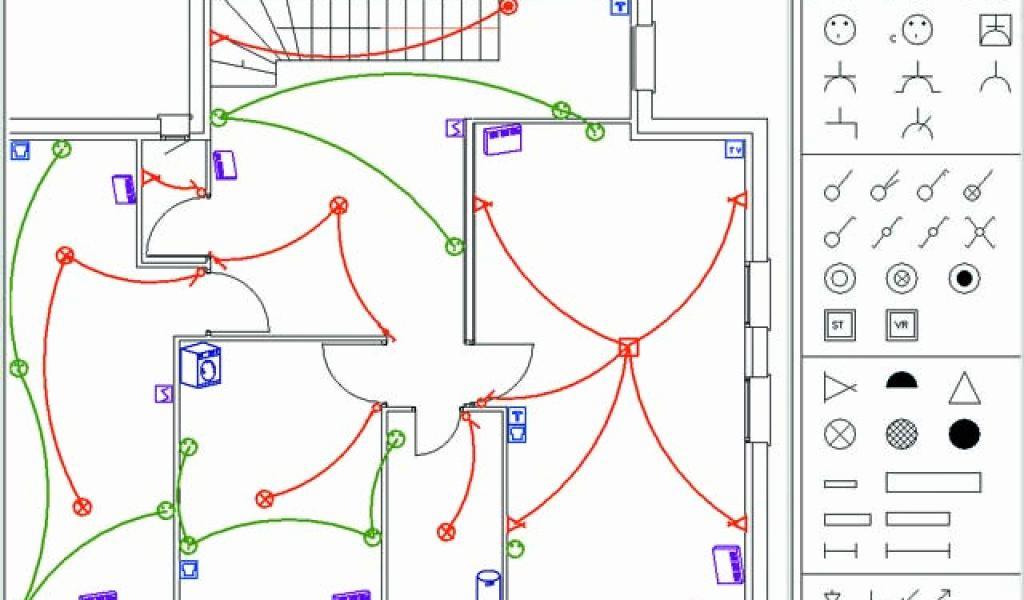 Logiciel schema electrique habitation