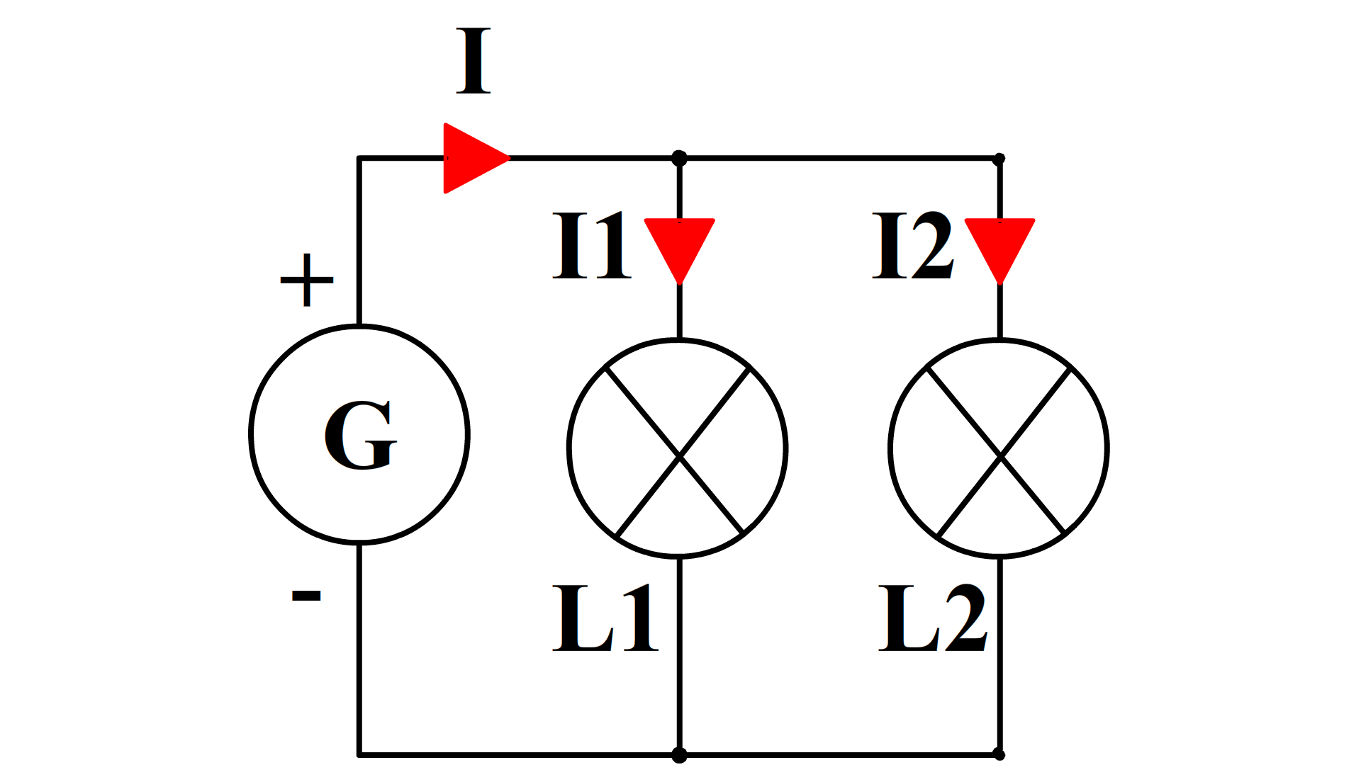Intensité électrique schéma