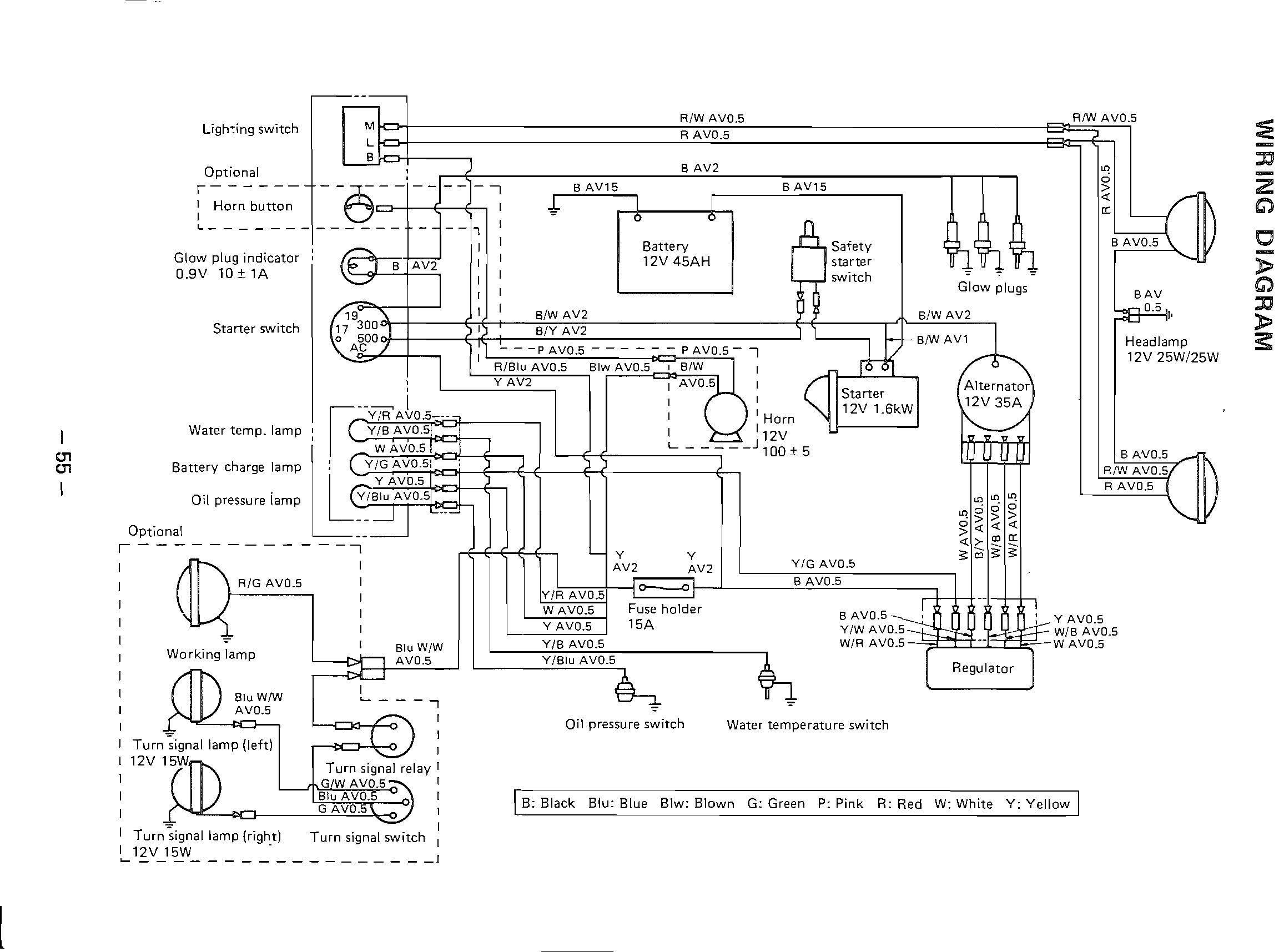 Schema electrique massey ferguson 265