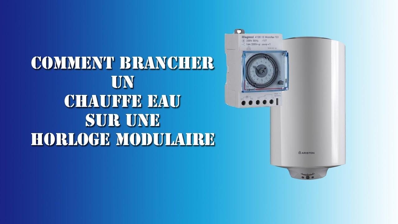 Schema electrique horloge pour chauffe eau