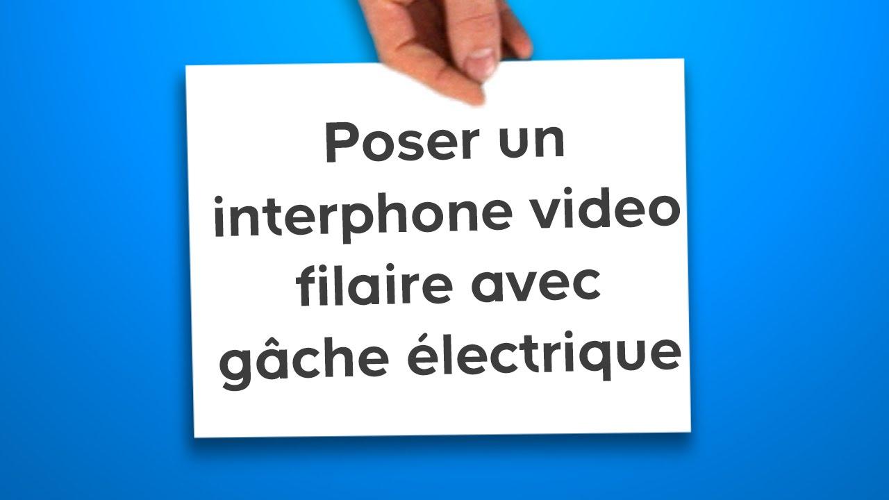 Schéma électrique visiophone