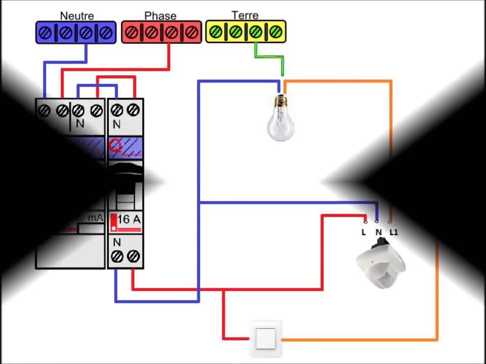 Schéma électrique 2 interrupteurs