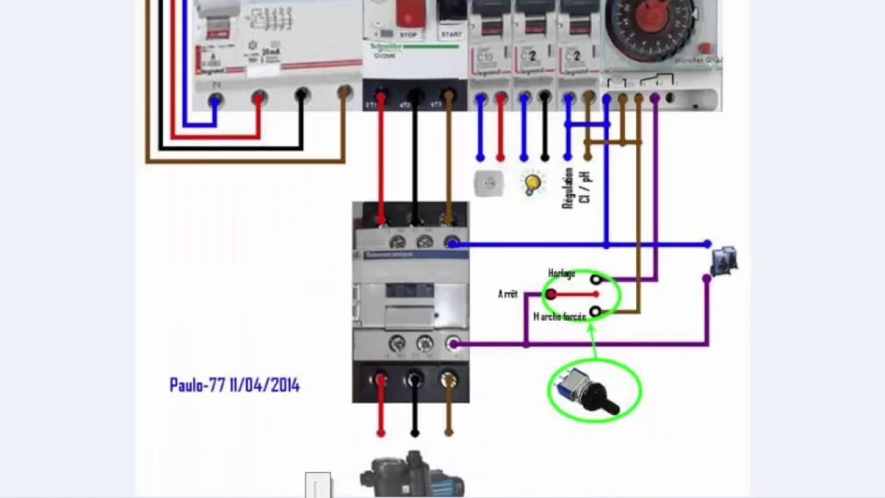 Schema electrique programmateur flash micromat
