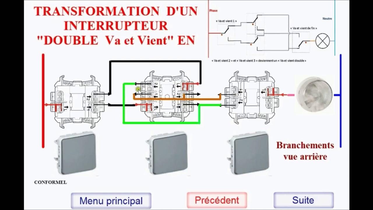 Schema electrique 3 lampes 3 interrupteurs