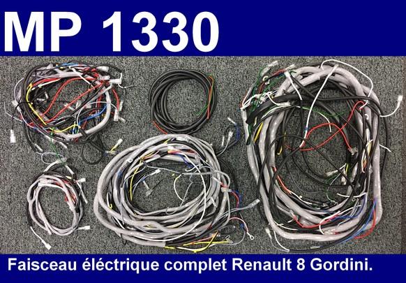 Schema electrique r8 gordini