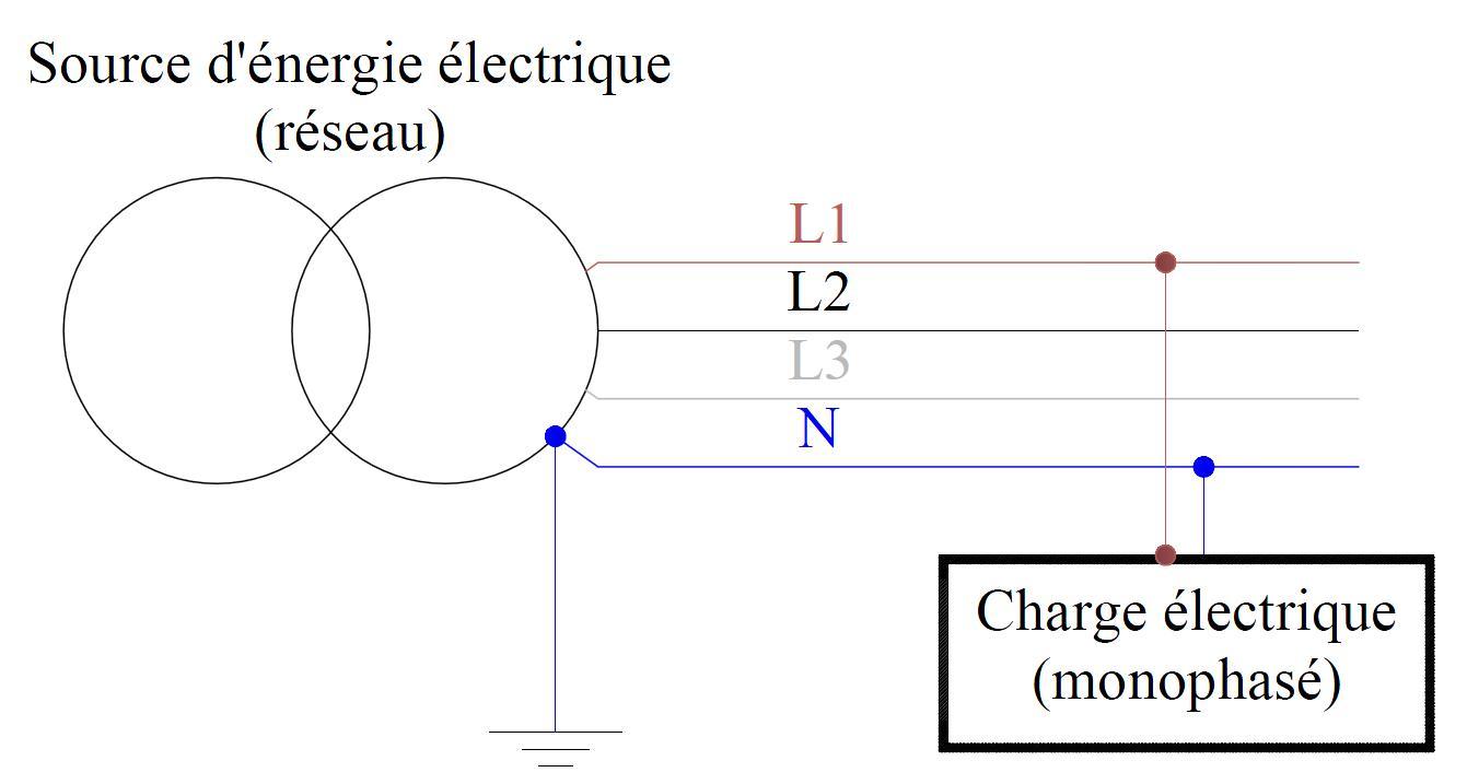 Masse schéma électrique