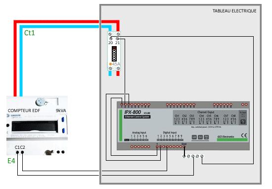 Schema compteur electrique edf