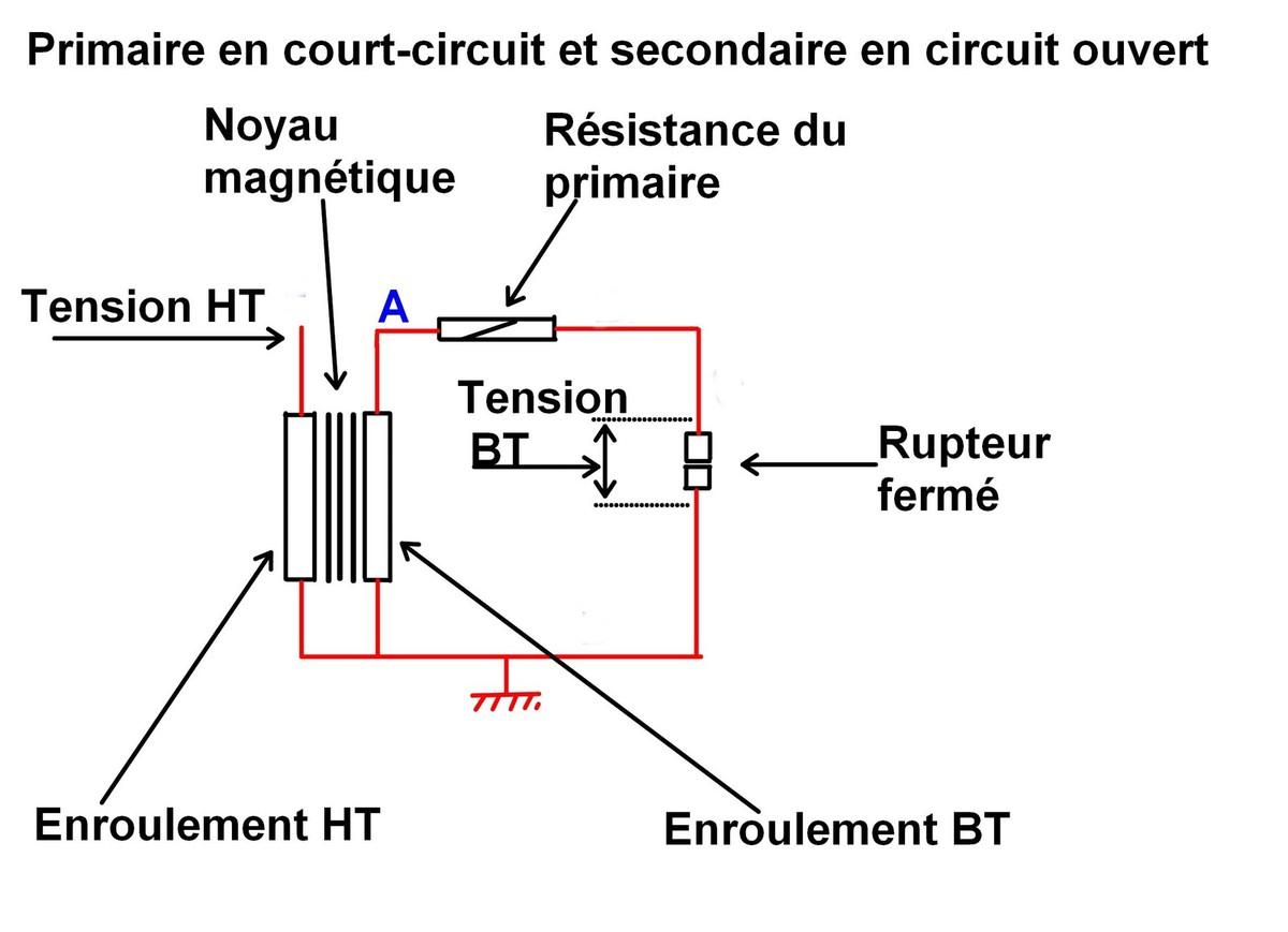 Schema electrique bobine resistance