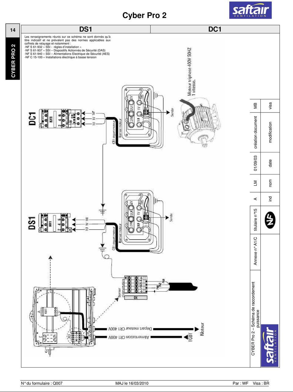 Moteur electrique 220v schema