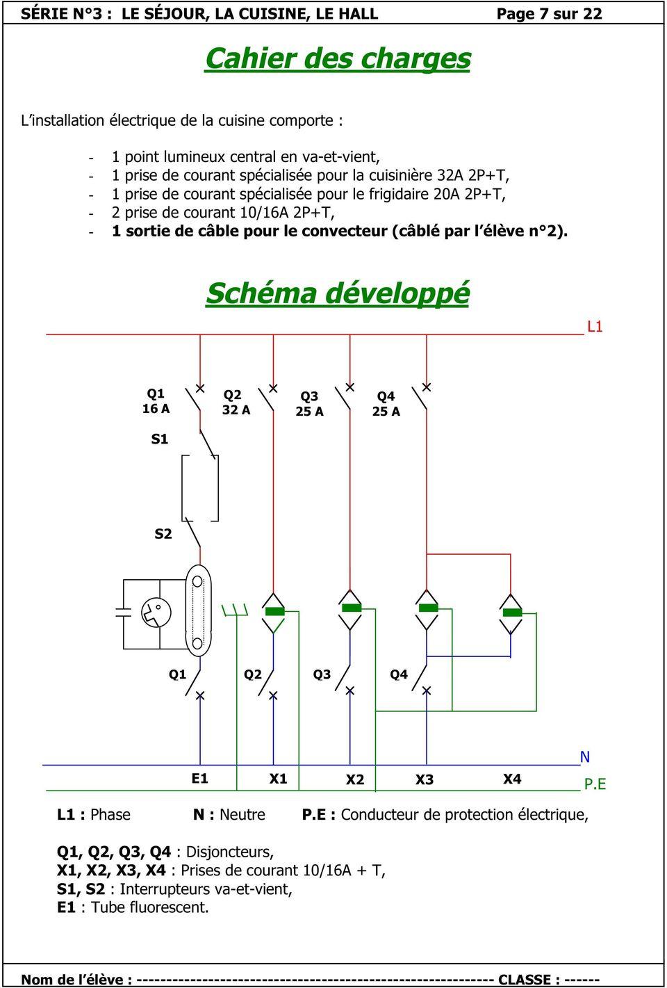 Schema electrique q1
