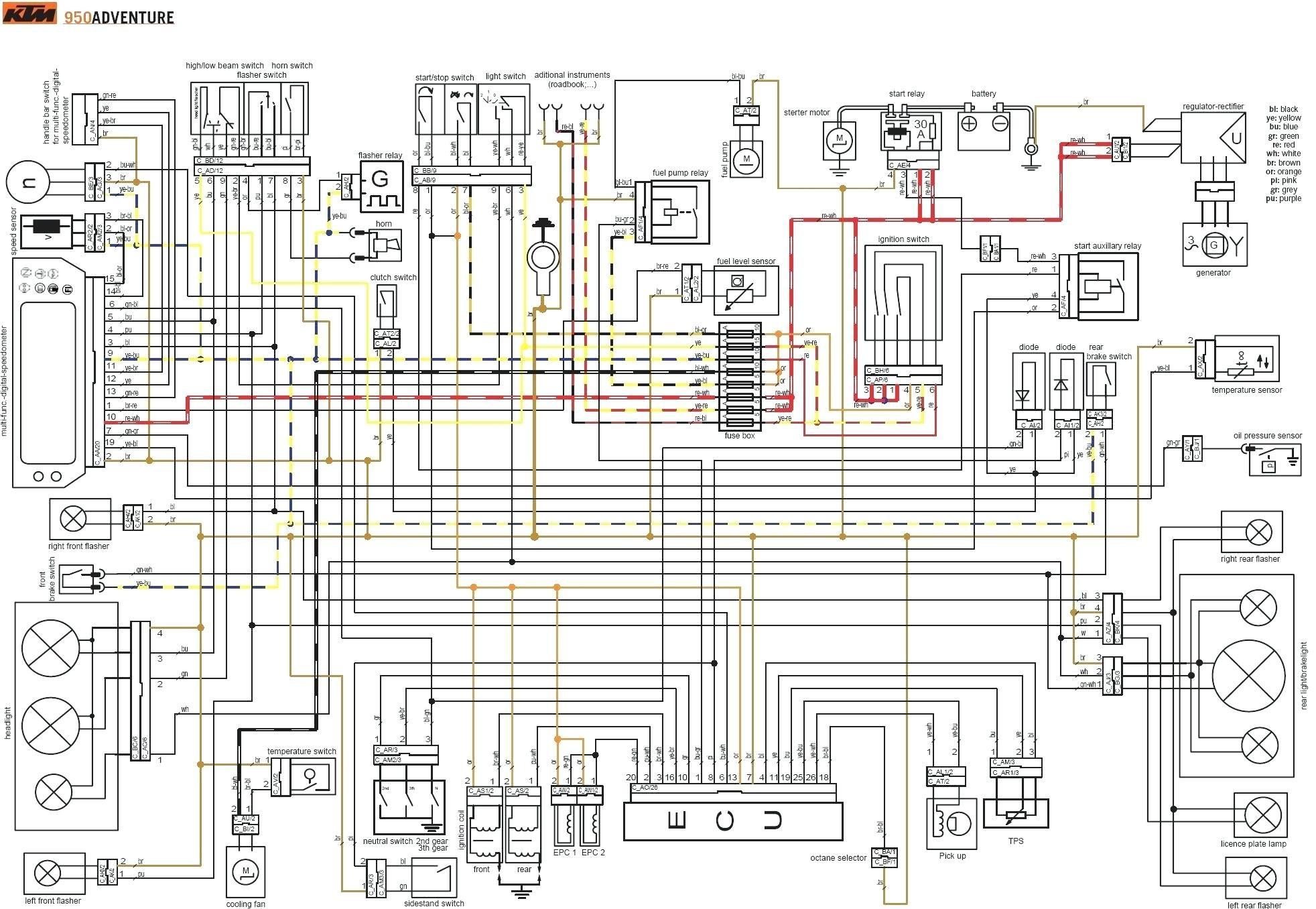 Schema Electrique 205 Xs