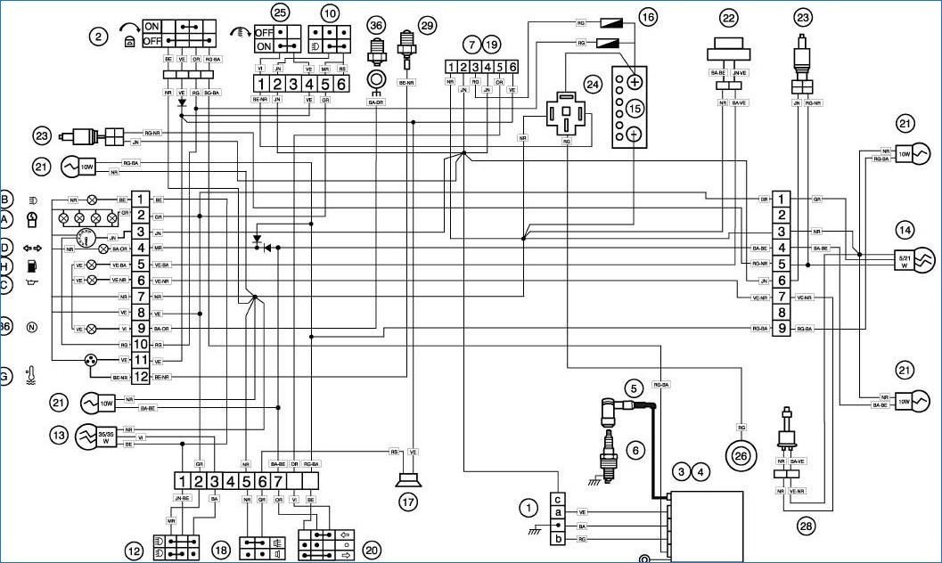 schema moteur electrique 220v 380v