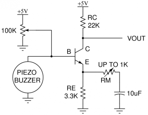 Schema piezo electrique