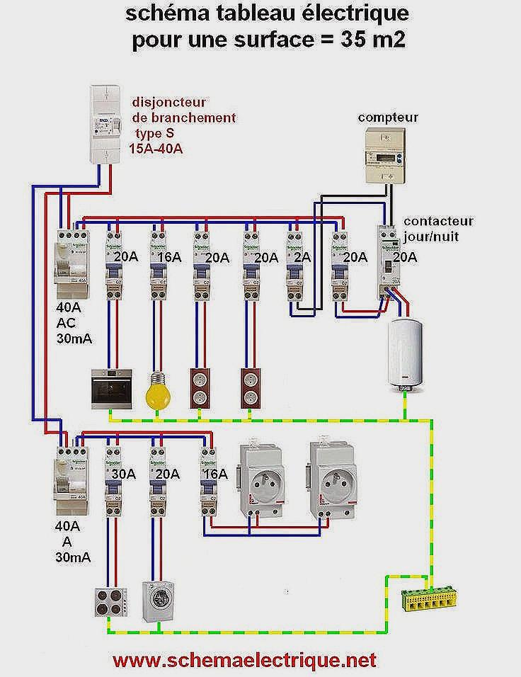 Schema electrique som 40