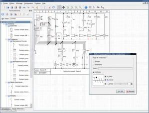 Logiciel creation de schema electrique