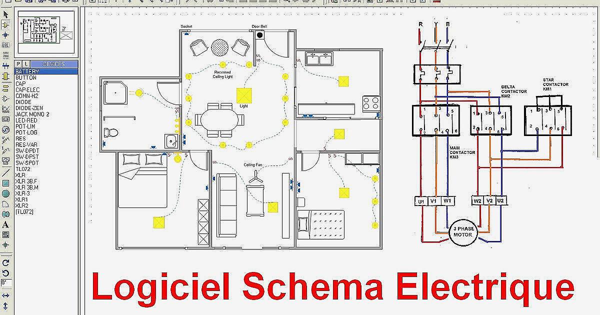Réaliser Un Schéma Electrique