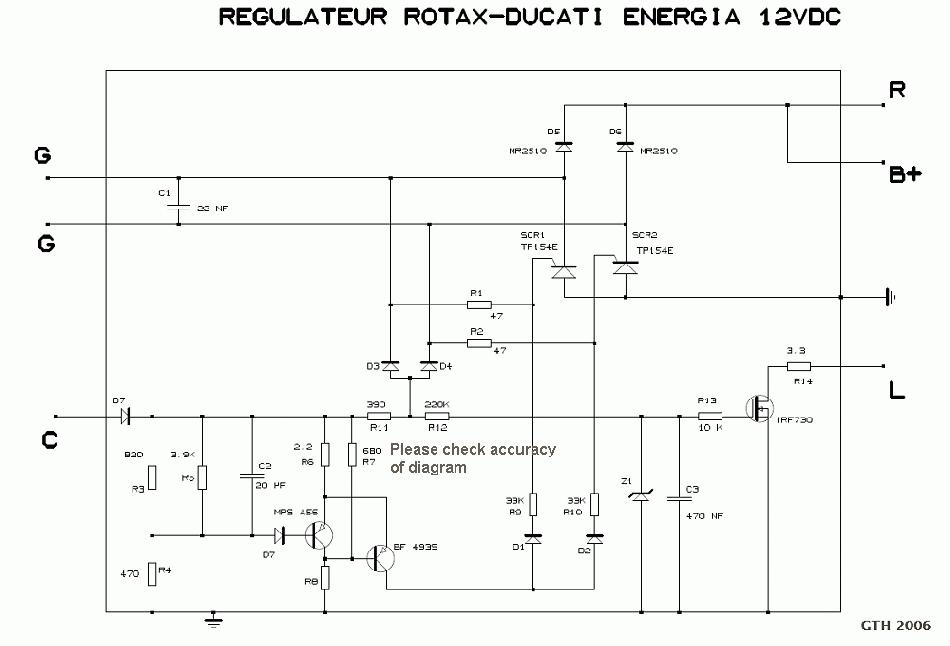 Schema electrique avion