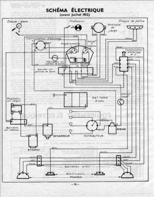 Schema electrique traction citroen