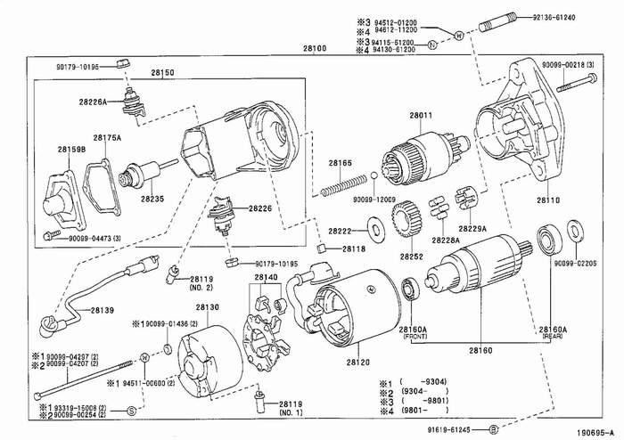 schema electrique toyota land cruiser lj73