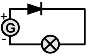 Schema electrique croix cercle