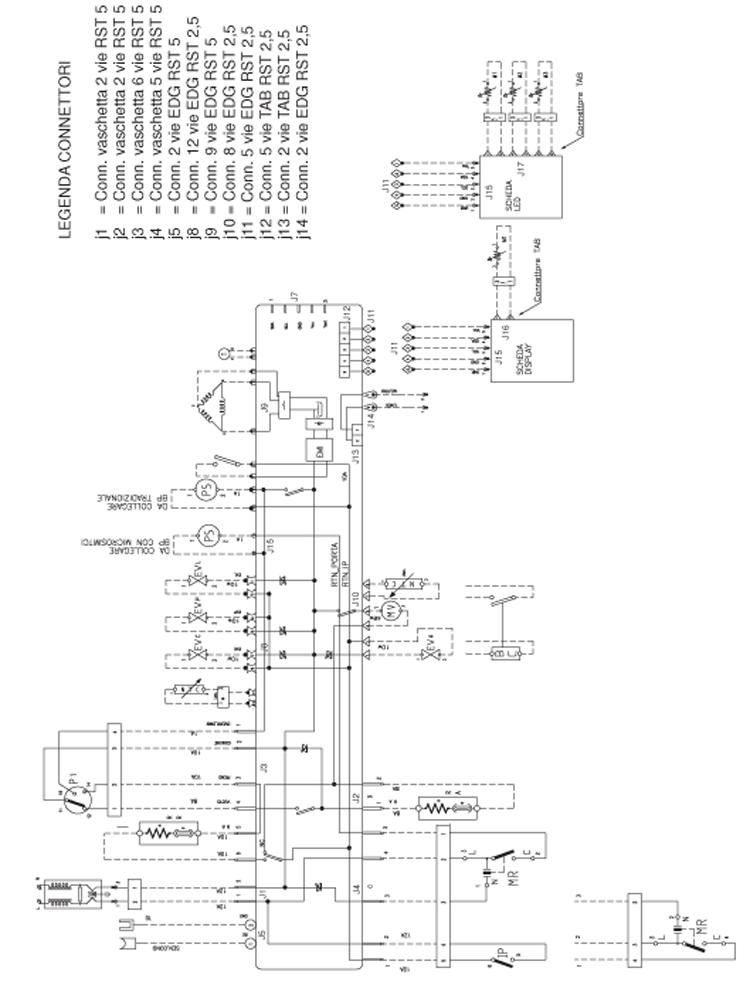 Schema electrique pour lave linge