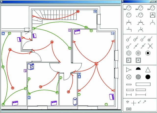 Schema electrique architecte