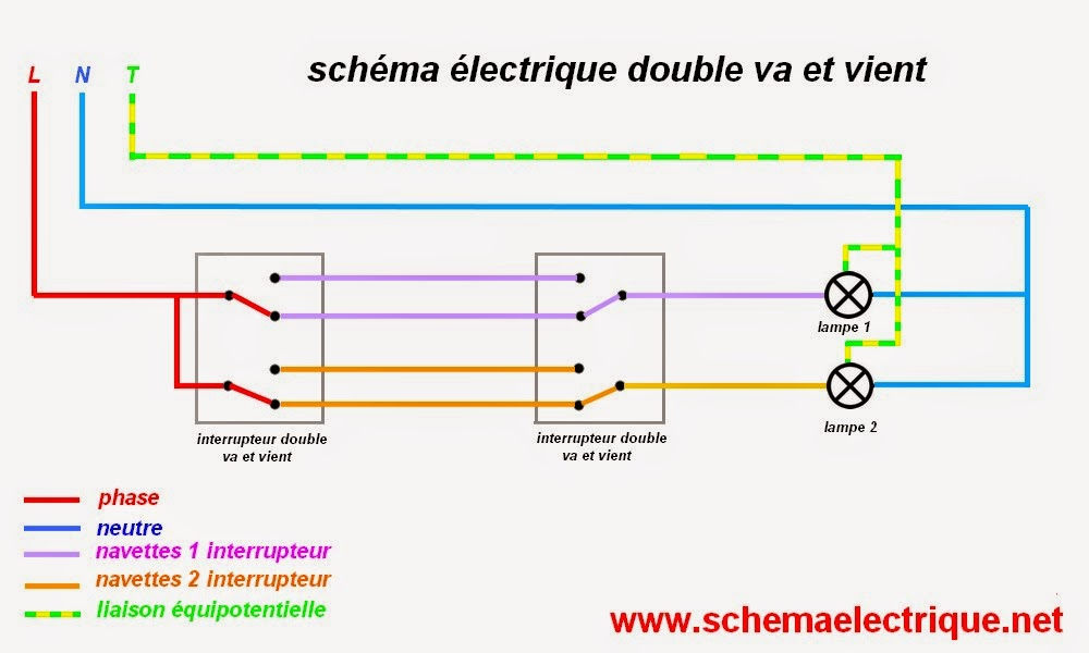 Schema Electrique Va Et Vient Sans Fil