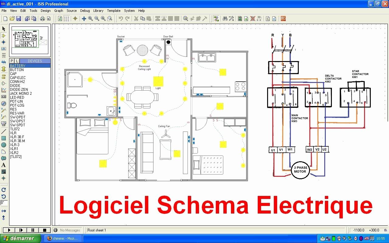 Comment faire un schema electrique d'une maison