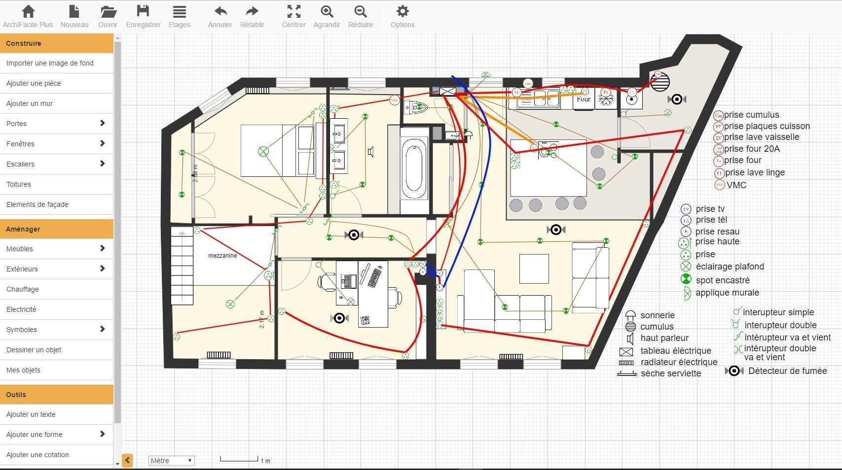 schema installation electrique de maison bois eco. Black Bedroom Furniture Sets. Home Design Ideas