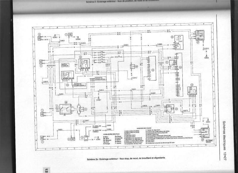 Schema faisceau electrique ford transit