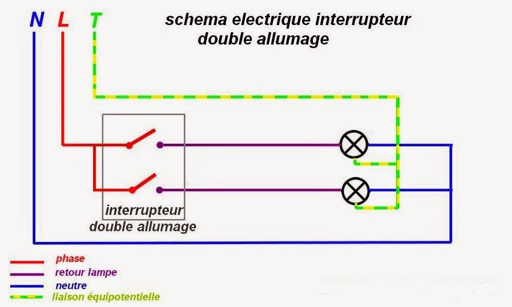 Schema simple allumage electrique
