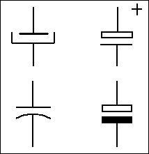 Condensateur schéma électrique