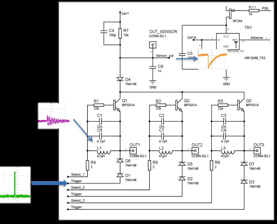 Schéma électrique capteur