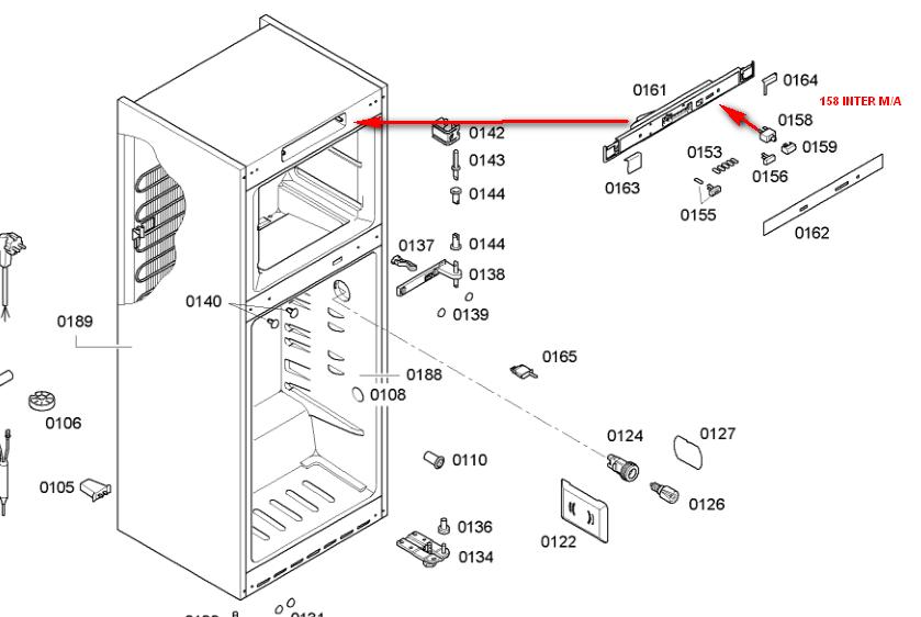 schema electrique refrigerateur siemens