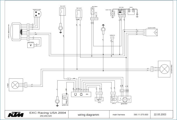 Schema Electrique Ktm 525 Exc