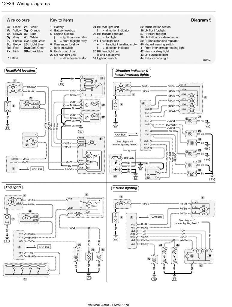 Schema Electrique Opel Zafira Essence