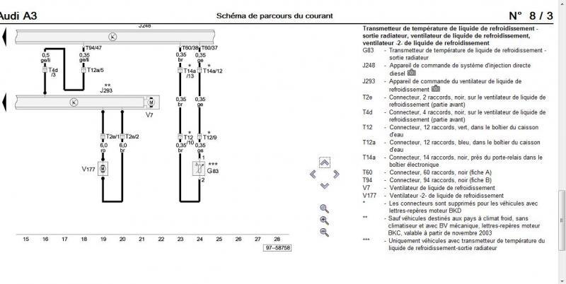 schema electrique audi a3 8p1