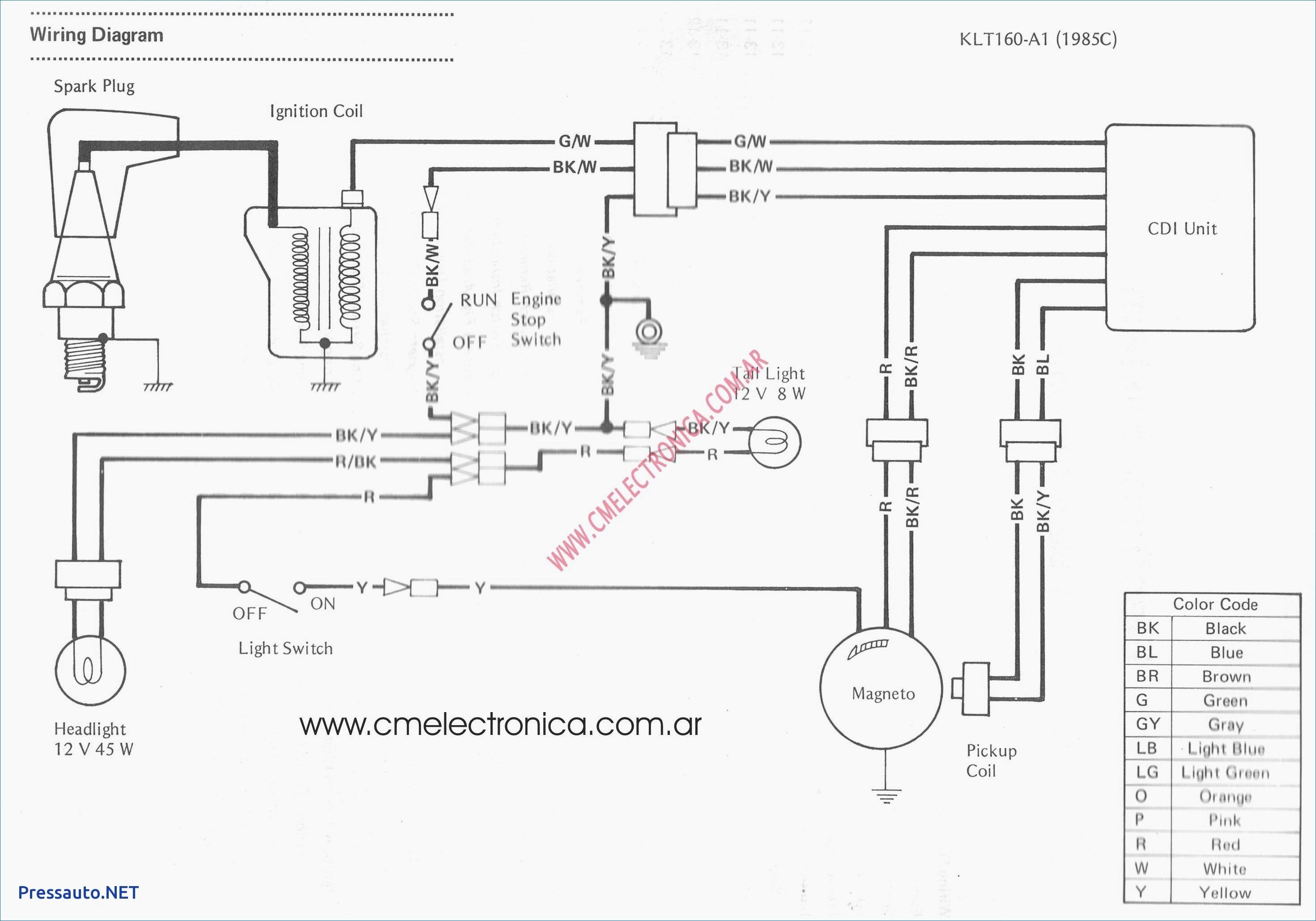 schema electrique mf 165