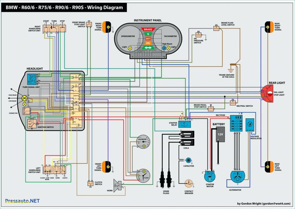 Schema Electrique Bmw R75  5