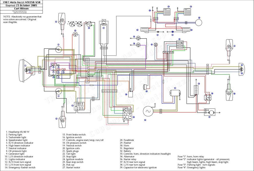 Schema Electrique R1 1998