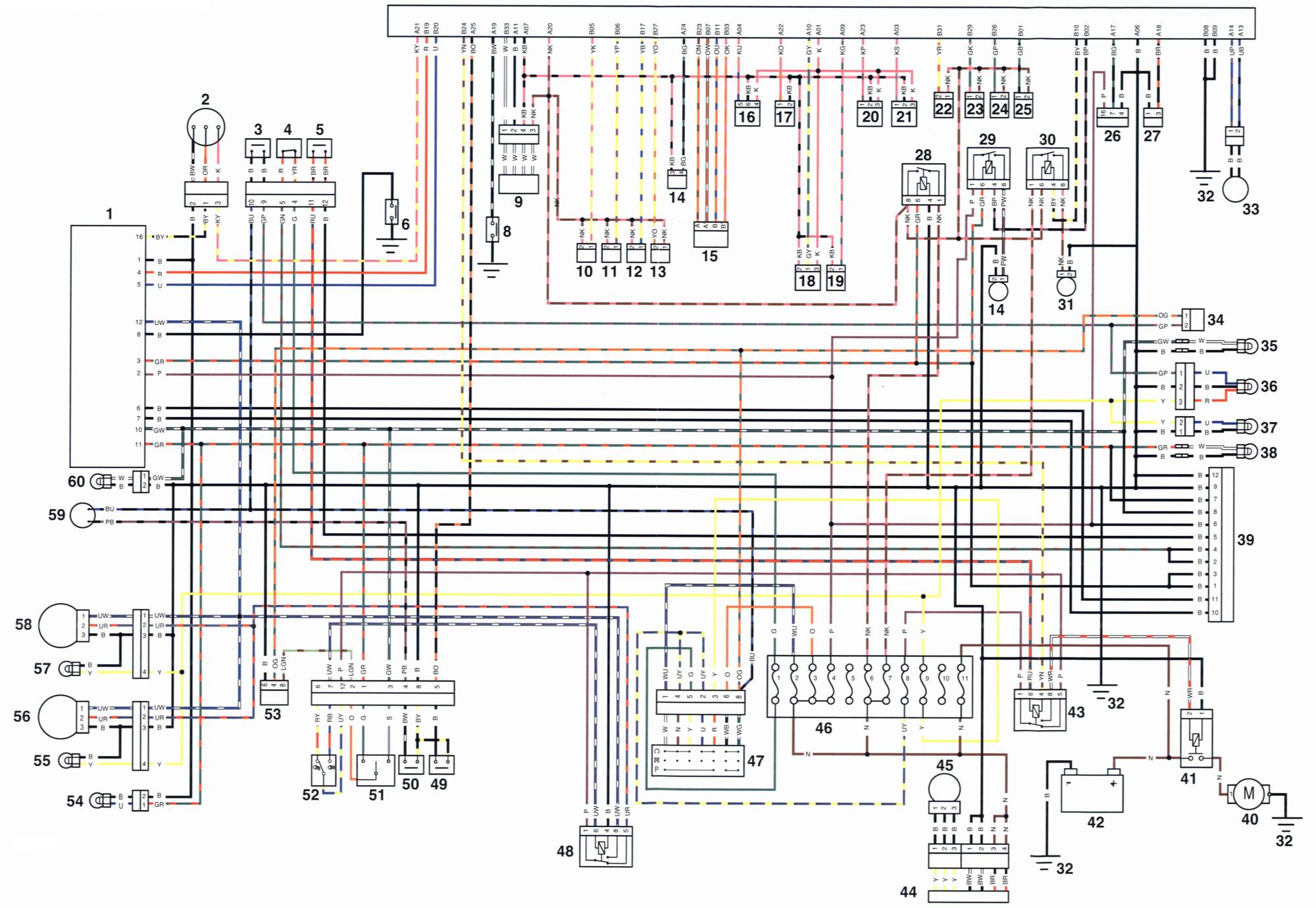 Schema Electrique Triumph Bonneville T100