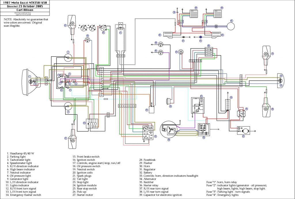 Schema Electrique 250 Raptor