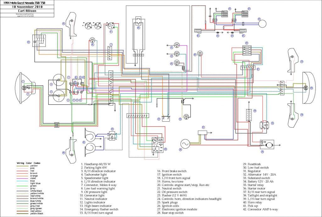 Schema Electrique 350 Raptor