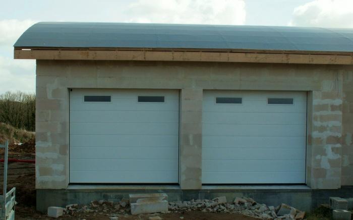 Couler un seuil de porte de garage