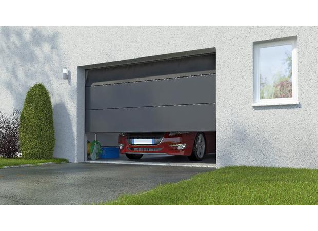 Porte de garage chez chretien