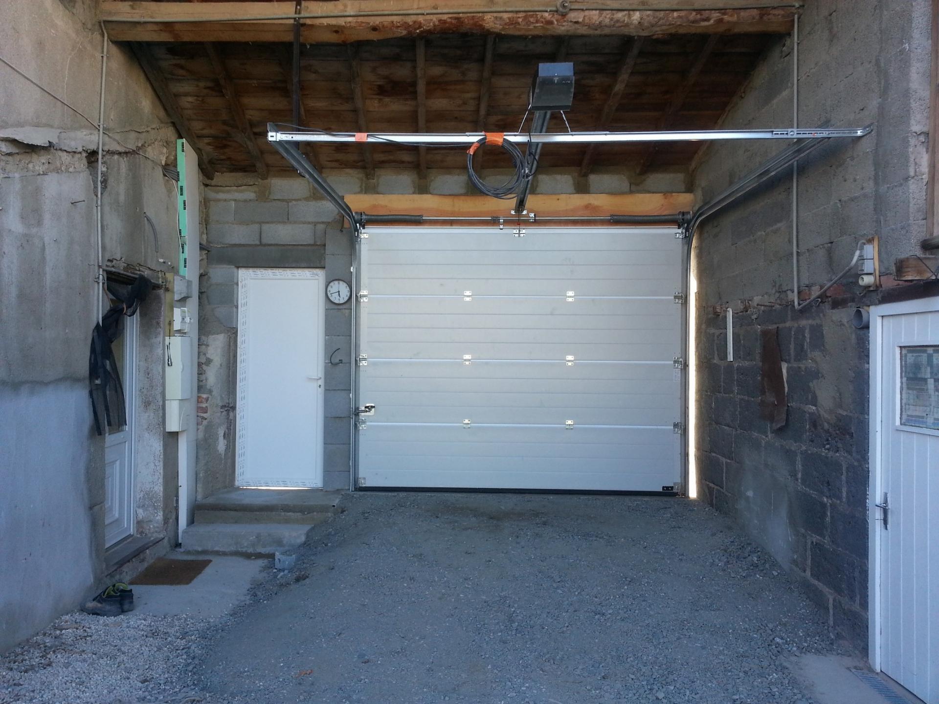 Dimension maçonnerie pour porte de garage