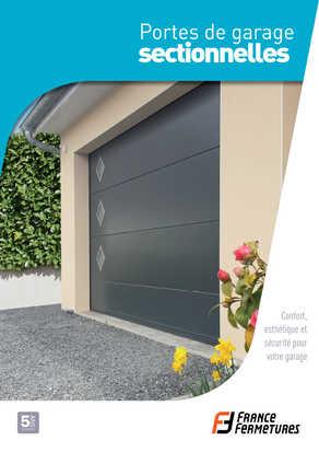 Pose porte de garage sectionnelle futurol