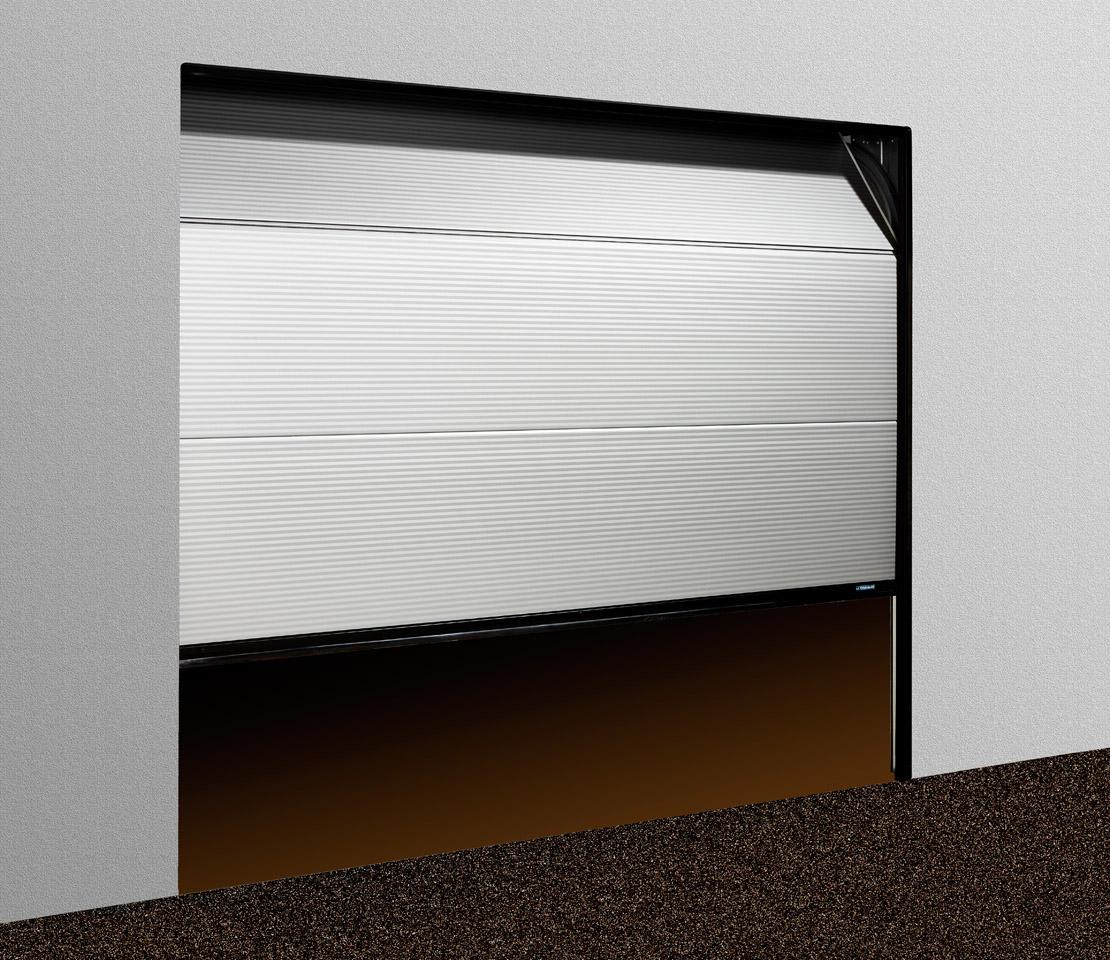 Modifier une porte de garage sectionnelle