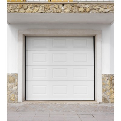 Porte de garage sectionnelle flexidoor grey flat gris